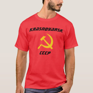 Camiseta Krasnoyarsk, CCCP, Krasnoyarsk, Rússia