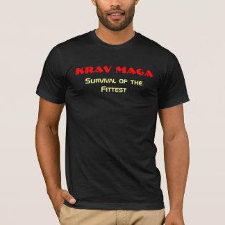 Camiseta Krav Maga, sobrevivência do mais apto