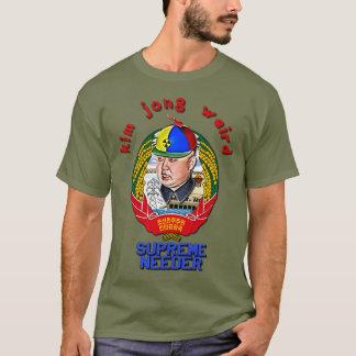 Camiseta Krazy Kim Jong estranho - Needer supremo
