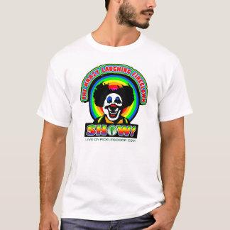 Camiseta Krazy que ri o T de FireClown
