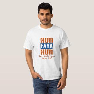 """Camiseta """"Kun Faya Kun: Seja e é """""""