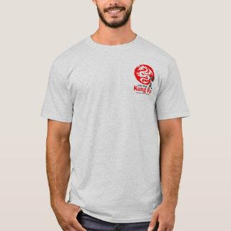 Camiseta Kung Fu (cinza de cinza)