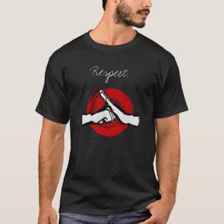 Camiseta Kung Fu - saudação das artes marciais