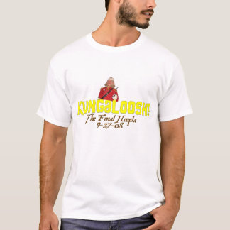 Camiseta Kungaloosh! O Hoopla final - t-shirt