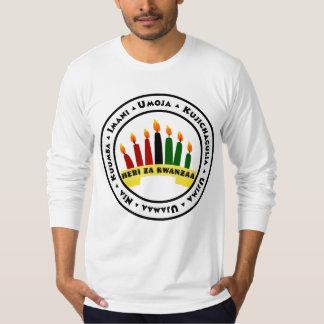 Camiseta Kwanzaa feliz com 7 princípios