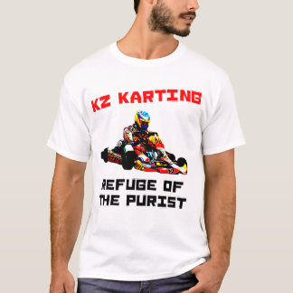 Camiseta KZ Karting - refúgio do purista
