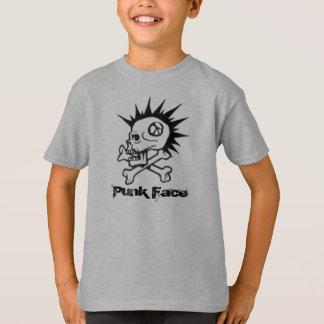 Camiseta l, cara do punk