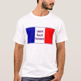 Camiseta La France de Vive, patriótico francês de Revlution