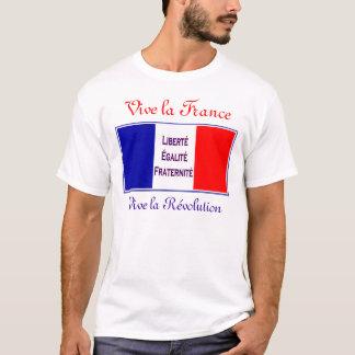 Camiseta La France de Vive, revolução do la de Vive - dia