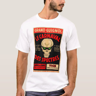 Camiseta La grande Caranval de Guignol do kitsch retro do