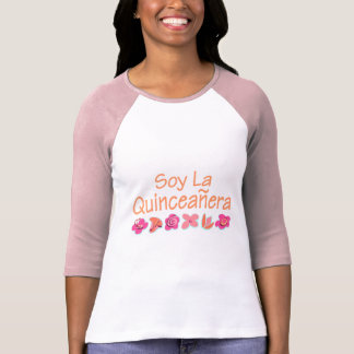Camiseta La Quinceanera da soja