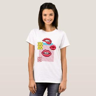Camiseta Lábios