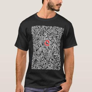 Camiseta Labirinto ao coração