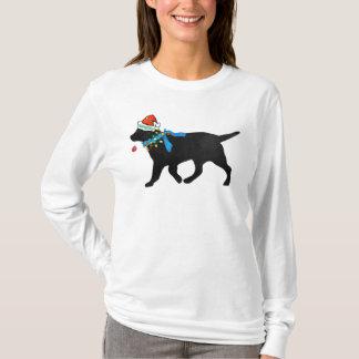 Camiseta Laboratório preto do Natal impertinente