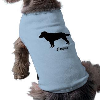 Camiseta Labrador retriever personalizou a camisa do Doggy