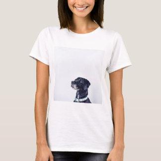 Camiseta Labrador retriever preto customizável