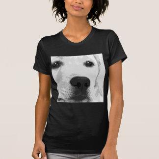 Camiseta Labrador retriever preto e branco