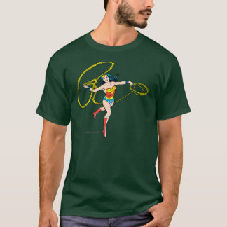 Camiseta Laço de balanço da mulher maravilha