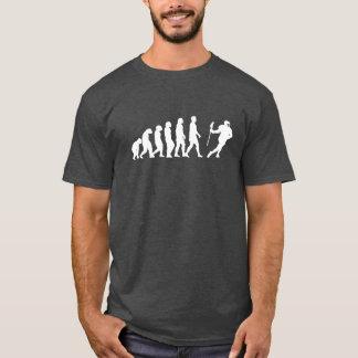 Camiseta Lacrosse da evolução