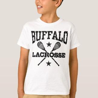 Camiseta Lacrosse do búfalo