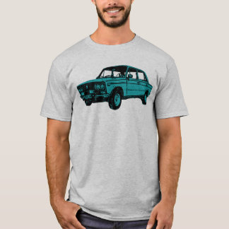 Camiseta Lada. Carro do russo