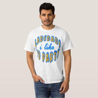 Camiseta Ladidadi que eu gosto de party Ramírez