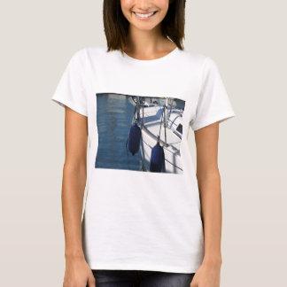 Camiseta Lado esquerdo do barco de navigação com os dois