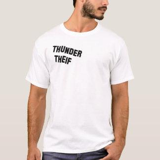 Camiseta Ladrão do trovão - nomeado