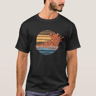 Camiseta Ladrões do T do por do sol do paraíso