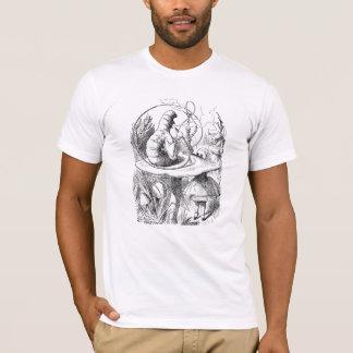 Camiseta lagarta de fumo do cachimbo de água