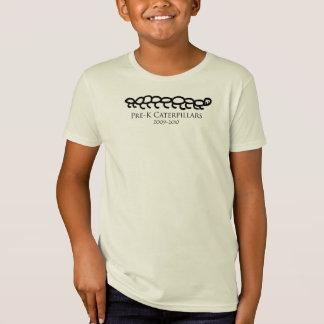 Camiseta lagartas do preK