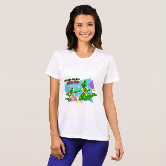 Camiseta Lagarto AP de BOGP: T do desempenho das mulheres