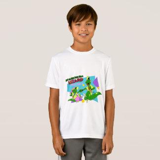 Camiseta Lagarto AP de BOGP:  T do desempenho dos