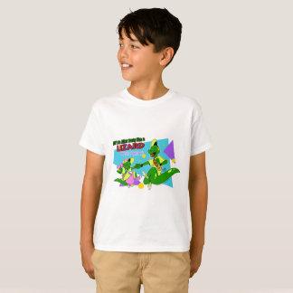 Camiseta Lagarto AP de BOGP: T do Regular dos miúdos