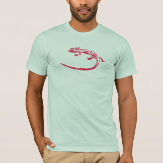 Camiseta Lagarto do pop art