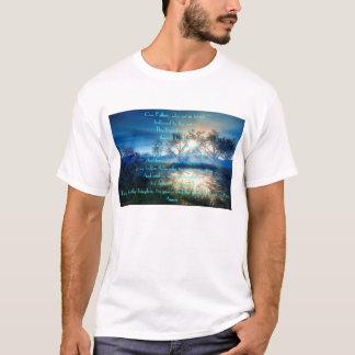 Camiseta lago da manhã/noite