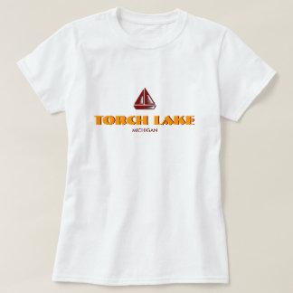 Camiseta LAGO da TOCHA, MICHIGAN, boneca das senhoras