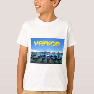 Camiseta Lagoa azul em Veneza, Italia