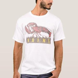 Camiseta Lagosta do vermelho de Maine