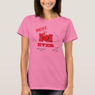 Camiseta Lagostins bonitos/lagosta com a melhor mamã do
