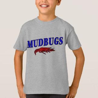 Camiseta Lagostins do vermelho de Mudbugs