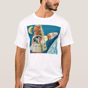 Camiseta Laika, o cão do espaço