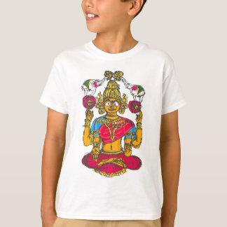 Camiseta Lakshmi/Shridebi na pose da meditação