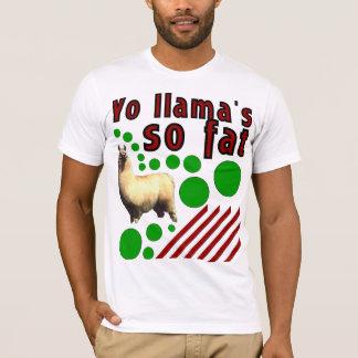 Camiseta Lama de Yo tão gordo!