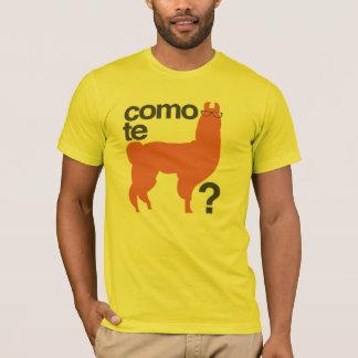 Camiseta Lama do te de Como?