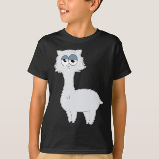Camiseta Lama mal-humorado do gato persa