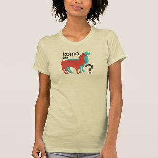 Camiseta Lamas do te de Como?