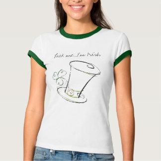 Camiseta Lamba-me… que eu sou irlandês