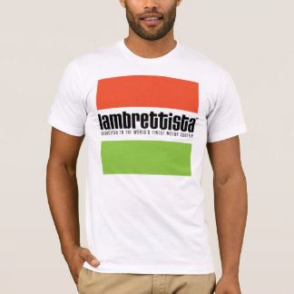 Camiseta Lambrettista Tricolour