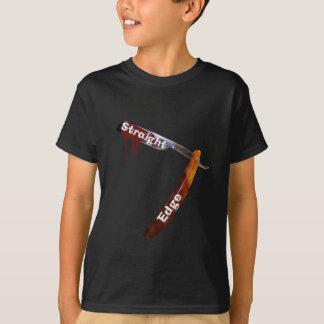 Camiseta Lâmina reta da borda reta